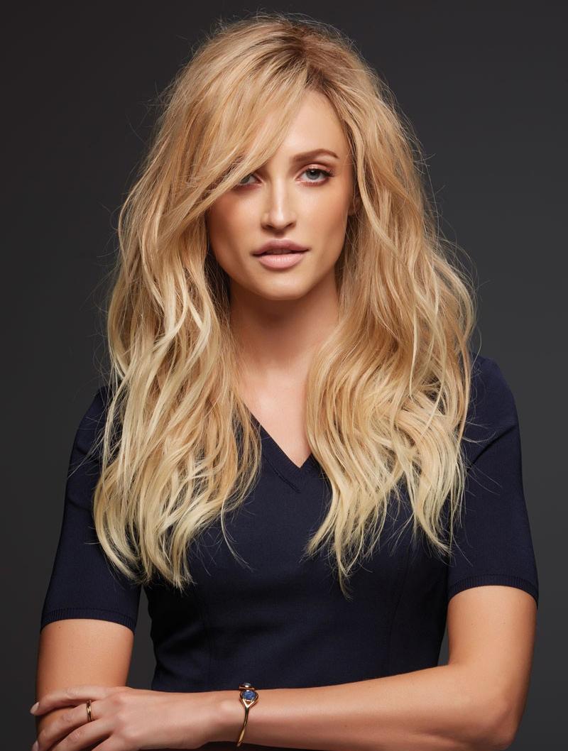 Gorgeous Layered Blonde Human Hair Wigs
