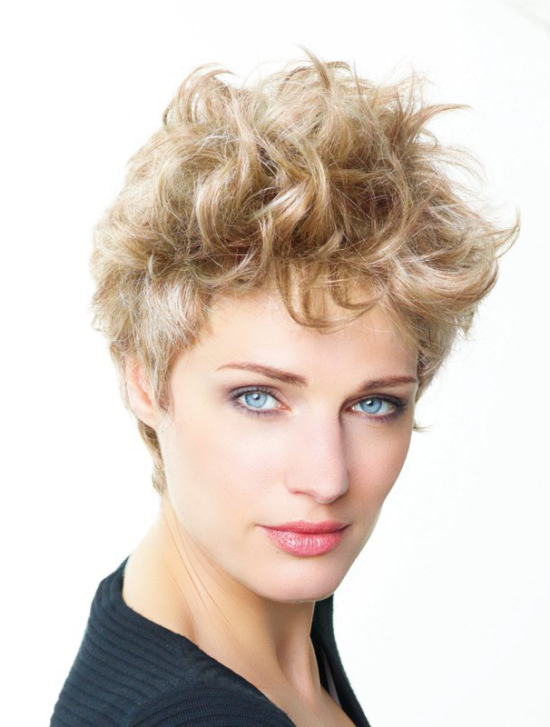 Blonde Curly Short Amazing Lace Front Wigs