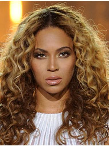 "20"" Blonde Curly Great Beyonce Wigs"