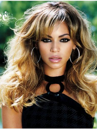 """Exquisite 18"""" With Bangs Capless Beyonce Wigs"""