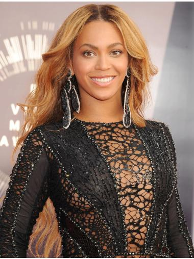 """Style 26"""" Without Bangs Lace Front Beyonce Wigs"""