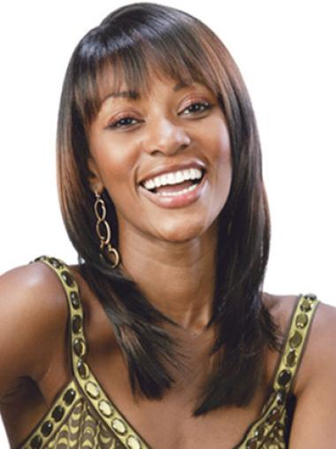 Modern Synthetic African American Wigs
