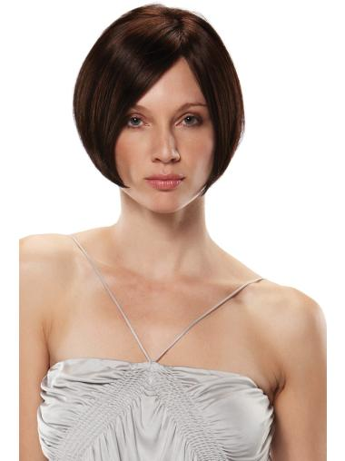 Realistic Short Monofilament Synthetic Wigs