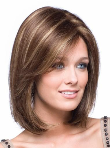 Chin Length Lace Front Wigs