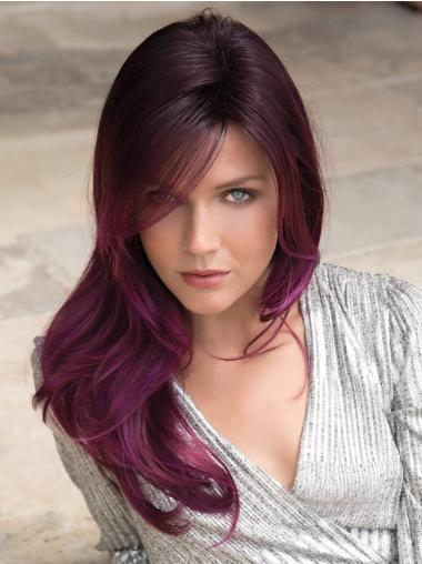 """Layered 20"""" Long Purple Capless Best Synthetic Hair"""